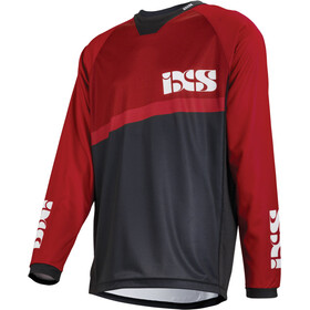 IXS Pivot 7.1 DH Longsleeve Jersey Men fluo red/black